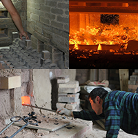 Firing and Kiln unloading
