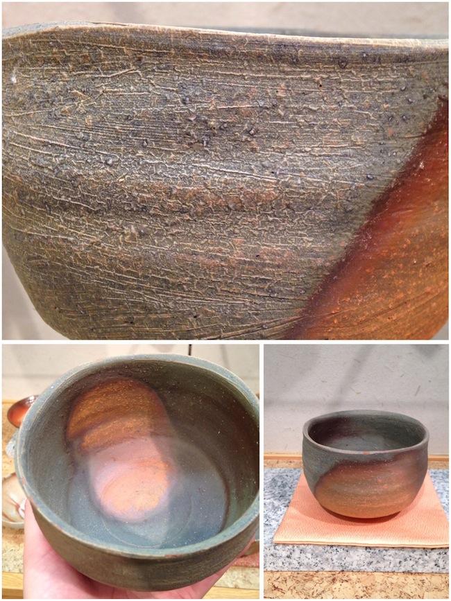 かせ胡麻茶碗/小西陶藏 作