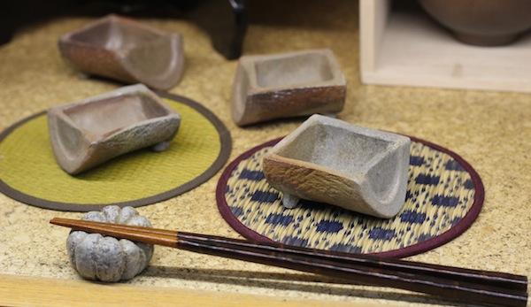 割り竹小鉢
