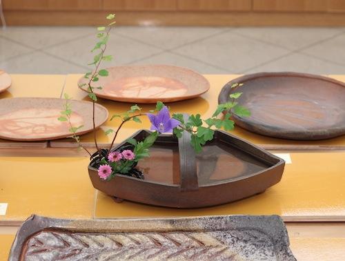 小西陶藏作/扇手鉢