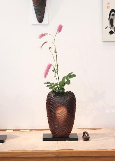 小西陶藏作/花器「流」