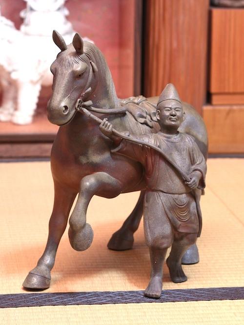 初代 陶古の作品「馬」
